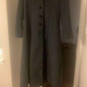 Halston wool coat
